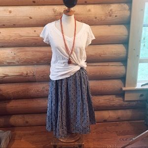 Anthropologie A-Line Above the Knee Skirt